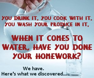 When it comes to water, have you done your homework?