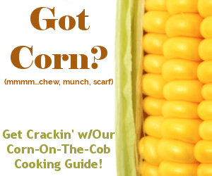 Get crackin' with our corn cooking guide