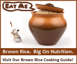 Visit our Brown Rice Cooking Guide