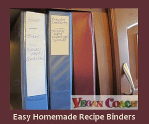 Easy homemade recipe binders