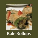 Quinoa and Kale Rollups