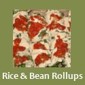 Rice and Beans Rollups