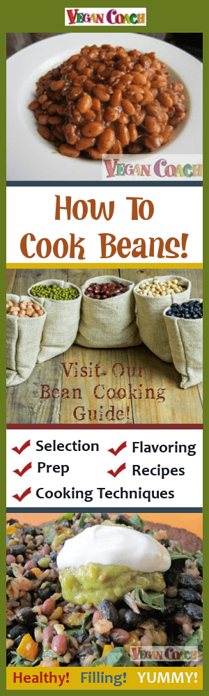 Learn how to cook beans from scratch! We'll show you how to shop for your beans, prep-n-soaking tips, cooking techniques & flavor matches....