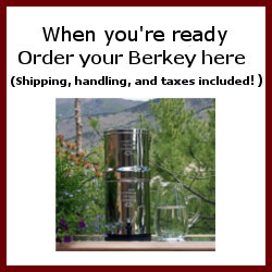 Berkey Water Filter and Purification System