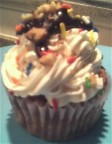 Best Vegan Cupcake - Banana Split Cupcake