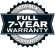 Full 7-Year Warranty