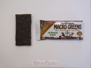 Macro Greens Bar with Wrapper