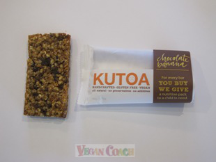 Kutoa Bar with wrapper