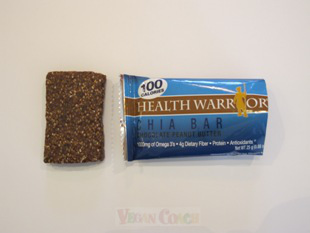 Health Warrior Chia Bar with wrapper