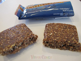 Health Warrior Chia Bar cut in half