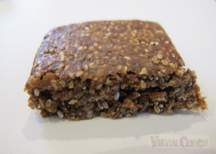 Close up of Health Warrior Chia Bar