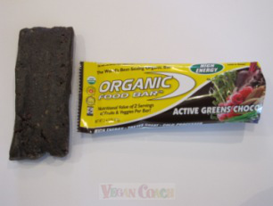Organic Food Bar with Wrapper