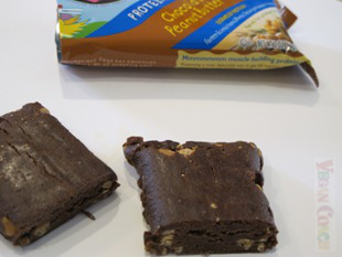 Odwalla Bar cut in half