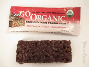 NuGo Organic Bar with Wrapper