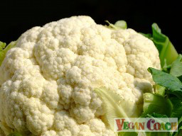 A gorgeous head of cauliflower