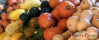 Varieties of winter squash at our local Whole Foods Market