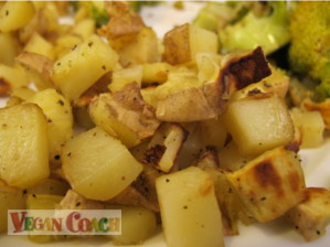 How to roast vegetables with or without oil vegan coach veggies roasted without parchment ccuart Image collections