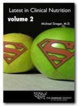 DVD cover Latest in Clinical Research Volume 2 -- Apples with Superman logo