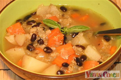 Rustice Vegetable Soup
