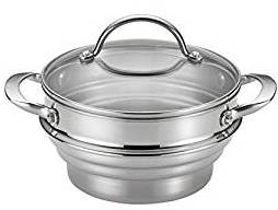 Graduated Stainless In-Pot Steamer Basket