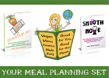 Plan It With Sass! Go Vegan Menu Planning Course Set