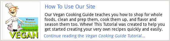 Vegan Cooking Guide Tutorial