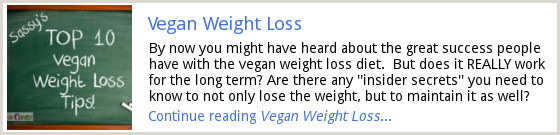 Vegan Weight Loss