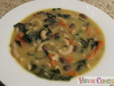 Click here to visit our vegan soups made from scratch without a recipe