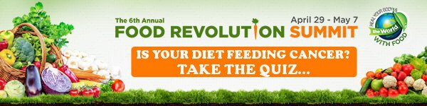Is your diet feeding or fighting cancer? Click here to take the quiz and find out...