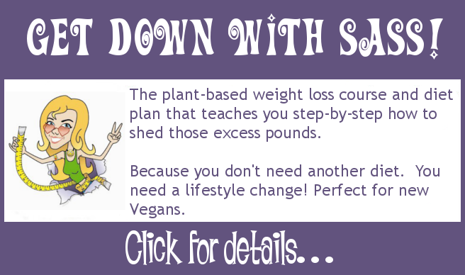 Click for details of my vegan weight loss diet course
