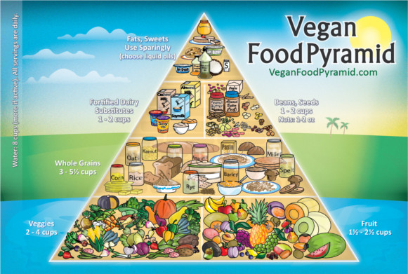 Vegan food pyramid do we really need it vegan coach - Como preparar platos vegetarianos ...